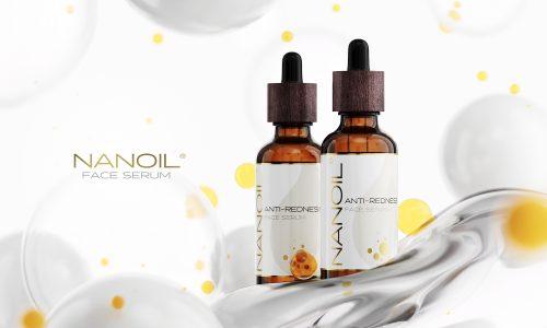 Nanoil melhor sérum antivermelhidão
